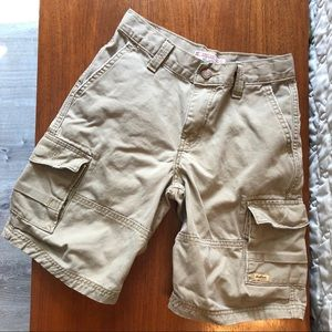 Levi's Cargo shorts khaki boys 8